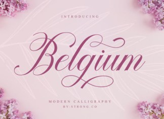 Belgium Font