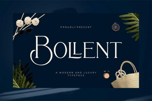 Bollent Font