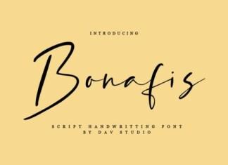 Bonafis Font