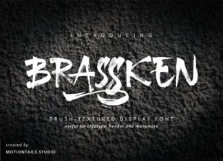 Brassken Font