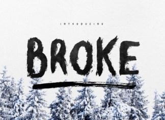 Broke Font