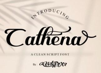Cathena Font