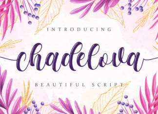 Chadelova Font