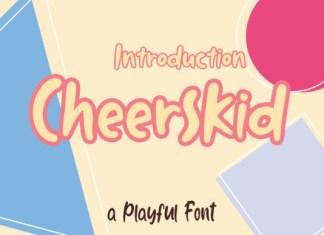 Cheerskid Font