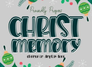 Christ Memory Font