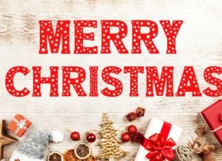 Christmas Stars Font