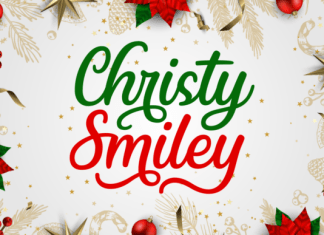Christy Smiley Font
