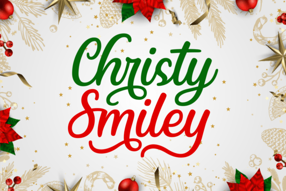 Christy Smiley Font