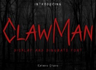 ClawMan Font