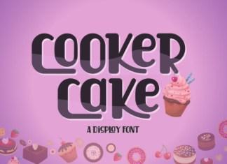 Cooker Cake Font