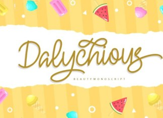 Dalychious Font