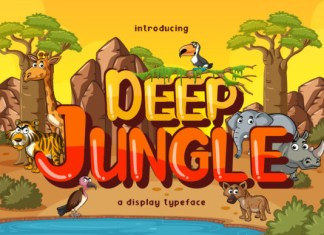 Deep Jungle Font