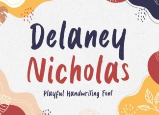 Delaney Nicholas Font