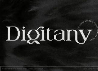 Digitany Font