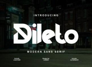 Dileto Font