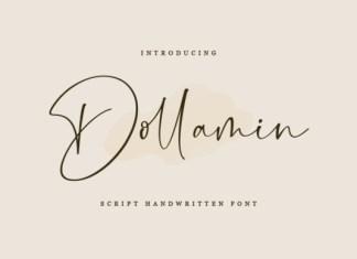 Dollamin Font