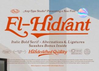 El-Hidrant Font
