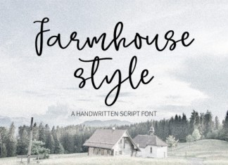 Farmhouse Style Font