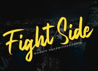 Fight Side Font