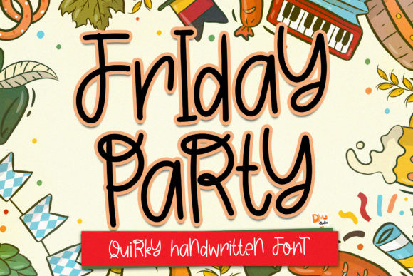 Friday Party Font