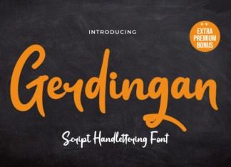 Gerdingan Font
