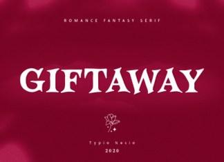 Giftaway Font