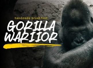 Gorilla Warriors Font