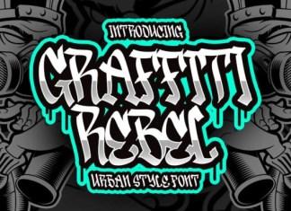Graffiti Rebel Font