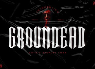 Groundead Font
