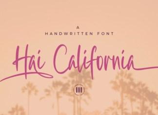 Hai California Font