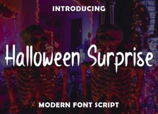 Halloween Surprise Font