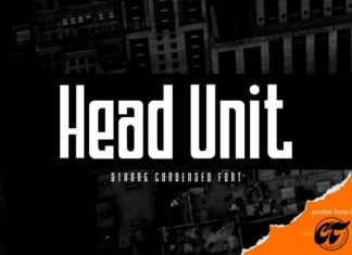 Head Unit Font