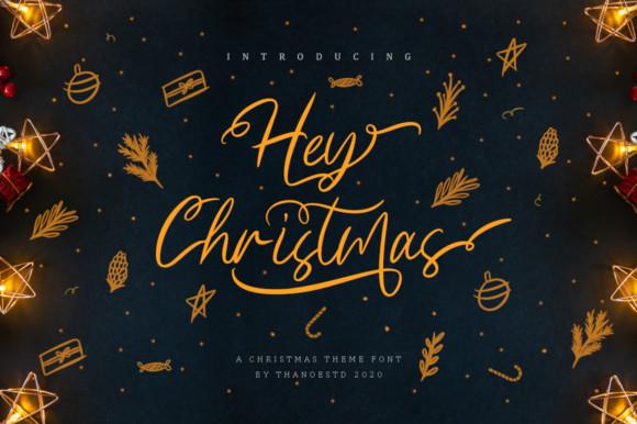Hey Christmas Font