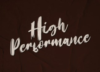 High Performance Font