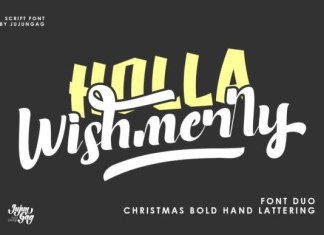 Holla Wishmerry Font