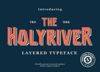 Holyriver Font