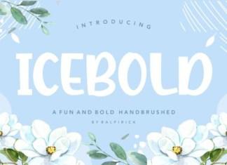 Icebold Font