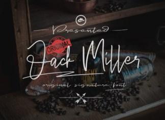 Jack Miller Font