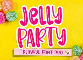 Jelly Party Font