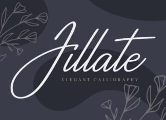 Jillate Font