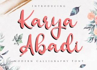 Karya Abadi Font