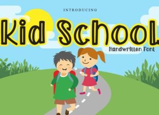 Kid School Font