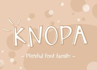 Knopa Font