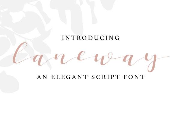 Laneway Font