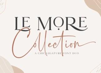 Le More Collection Font