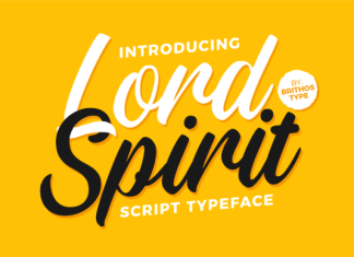 Lord Spirit Font