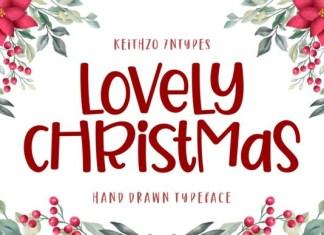 Lovely Christmas Font