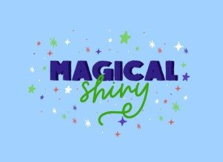 Magical Shiny Font