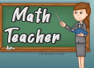 Math Teacher Font