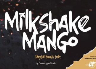 Milkshake Mango Font